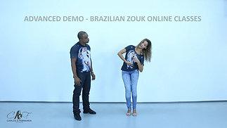 ADVANCED DEMO - BRAZILIAN ZOUK ONLINE CLASSES