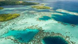 Flying over Milne Bay