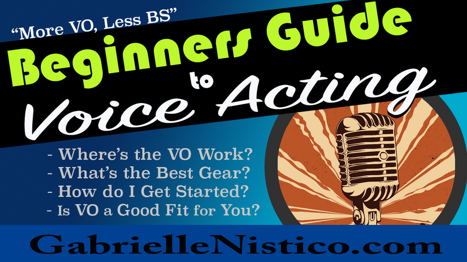 More VO, Less BS: Beginners Guide to Voice Over