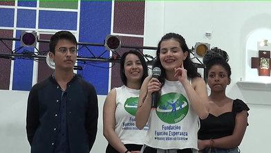 Natalia Roldán, líder juvenil y bailarina FFE
