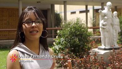 Luisa Fernanda Cruz, bailarina FFE