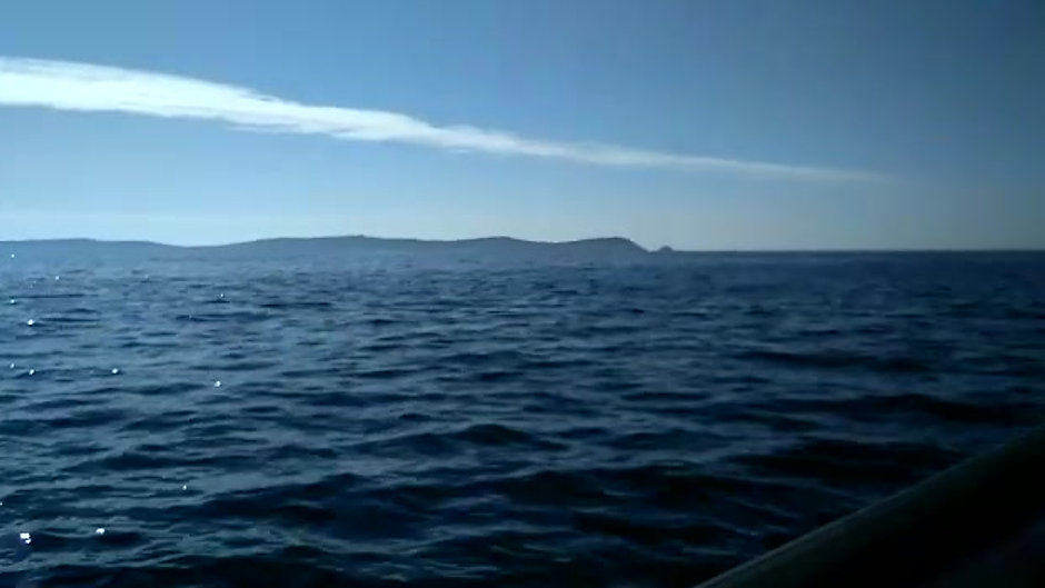 Navegando en el mar