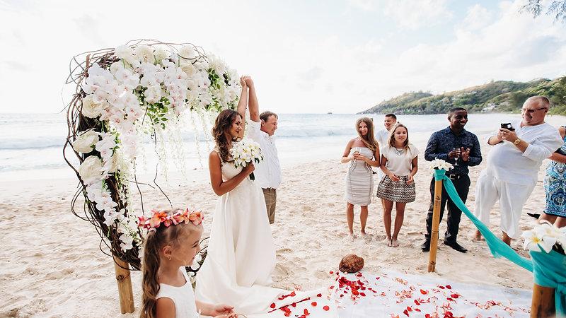 Свадьба на  Сейшельских островах 2016г., Игорь и Ирина