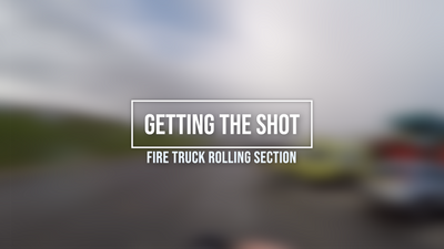 Getting The Shot - Fire Truck Filming