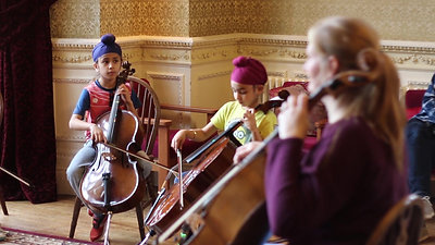 Young Strings at Ingestre Hall