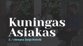 Kuningas Asiakas vieraana Aalto-yliopiston Sonja Kniivilä