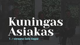 Kuningas Asiakas vieraana Nordic Business Forumin Salla Seppä