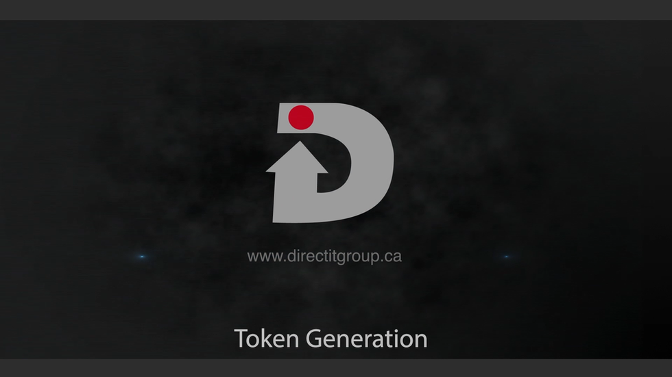 Token Generation with DirectX System