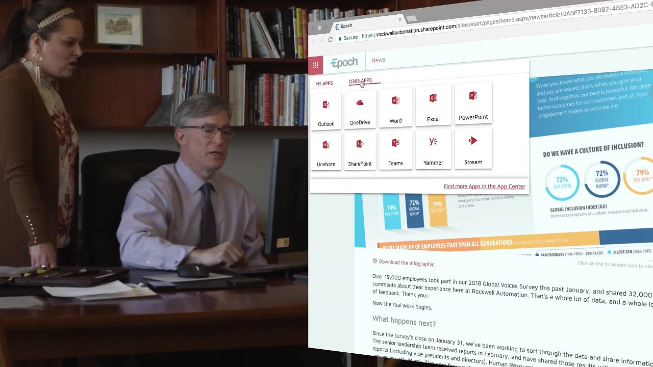 Watch Rockwell Automations's New Digital Workplace in Action!