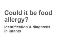 Could it food allergy?