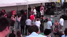 James Brown Medley - Thames Scoop Festival FanCam - FosseyTango
