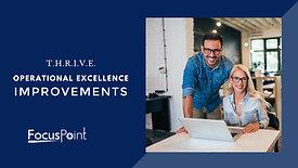 THRIVE - Improvement Strategy Presentation