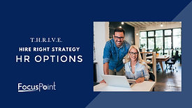 THRIVE - HR Options Hire Right Strategy Presentation