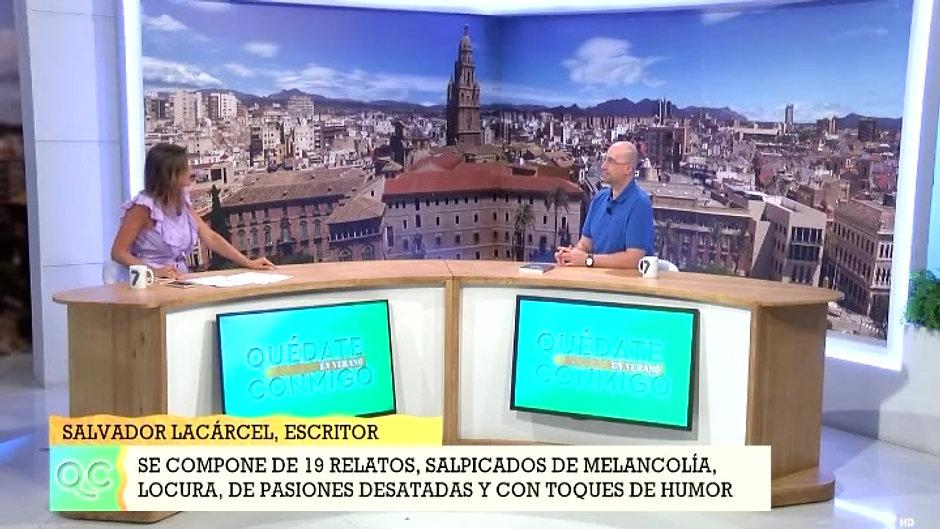 """Entrevista en """"Quédate conmigo 11/08/2020"""