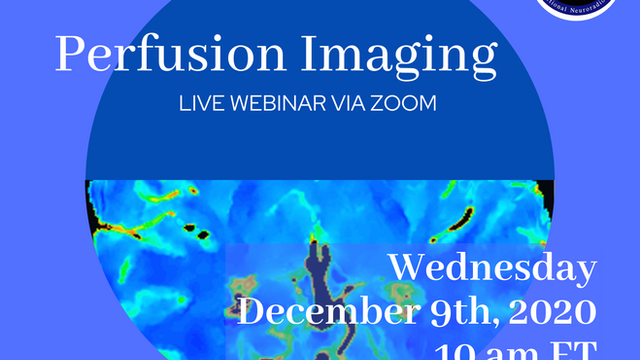 ASFNR Presents Perfusion Imaging