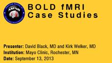 David Black, MD & Kirk Welker, MD (13-Sep-2013)