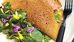 Crêpes colorées et vitaminées au sarrasin