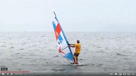 3. Thanos Sakkas : Windsurf Lessons - Turning 180 degrees