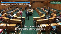 Immigration Minister continues to ignore split families