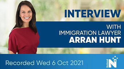 Interview with Arran Hunt
