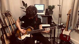 Hofner Club Bass Demo