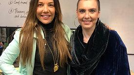 Carolina Brasil entrevista Adriana Calcanhoto, em Los Angeles-USA.