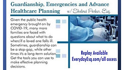 Emergency Guardianship Webinar