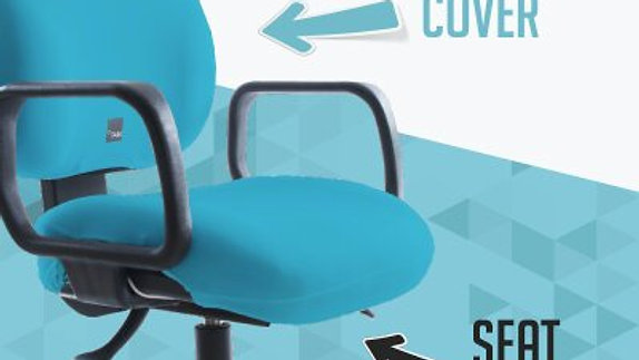 seat x - office chair cover by raz projects