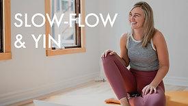 Slow Flow & Yin: Feel & Balance