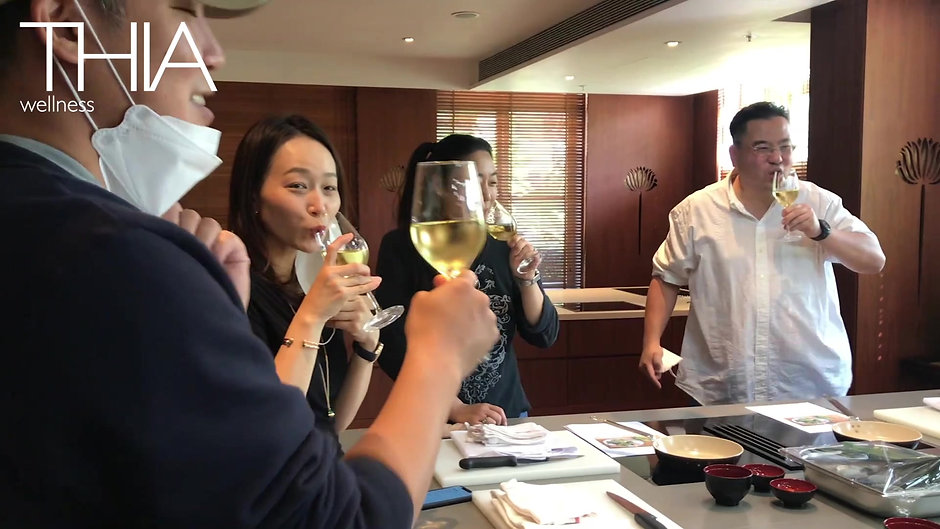 THIA : Culinary Wellness Series - Healthy THAI Canapes Intro