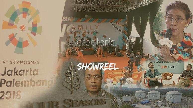 Creatoria Projects Showreel