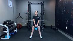 EOW sumo squat