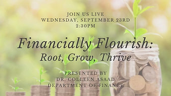 Financially Flourish Live Session