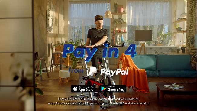 PAYPAL | MAKE FITNESS EASY