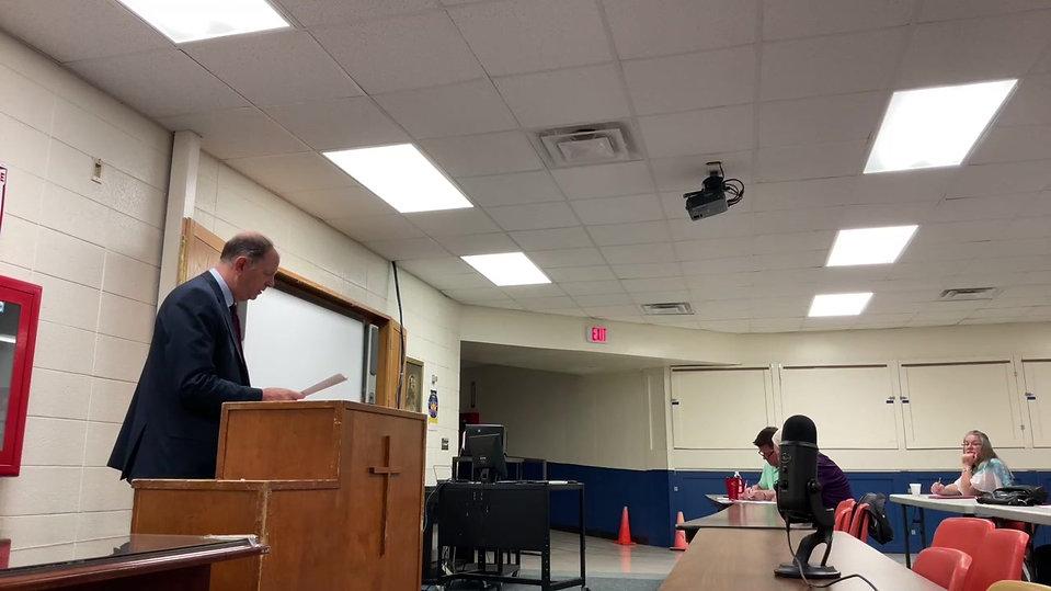 Pastor Hein Sunday Bible Study May 23, 2021