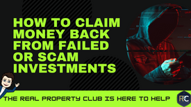 How to claim money back from scam investments
