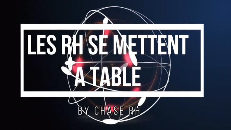 LES RH SE METTENT A TABLE
