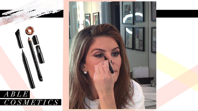 Eyeliner Tutorial for Maria Menounos's 'Hello EveryGirl' Newsletter