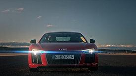 Audi R8 Launch / Race