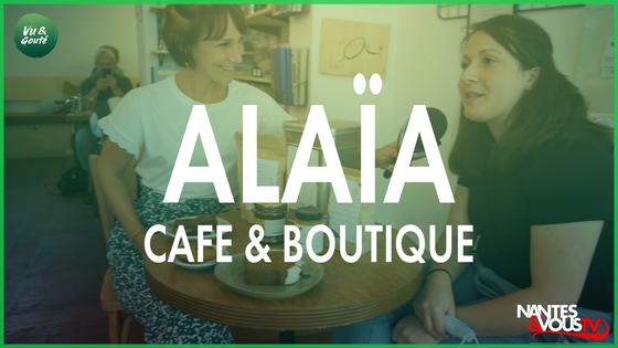 Découvrez l'Alaïa café & boutique