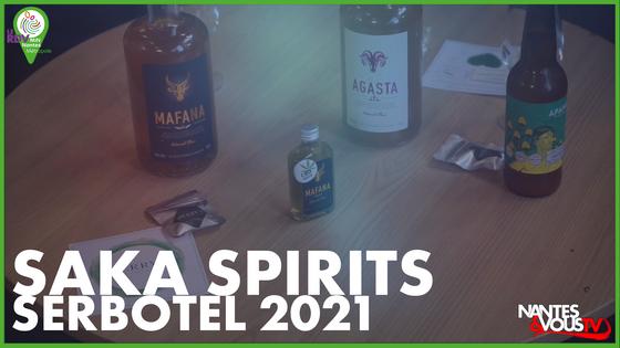 Saka Spirits - Bière & CBD les nouveautés à Serbotel
