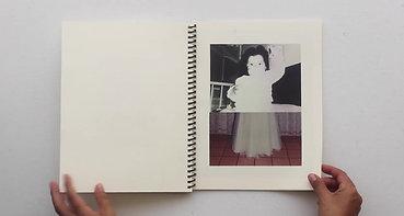Maqueta realizada en el Taller de Fotolibro con Misha Vallejo e Isadora Romero en F2