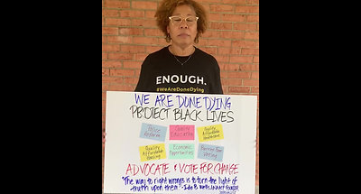 Fredericksburg NAACP Supports BLM