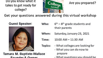 Exposing Middle School Students to College Preparation