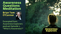 Awareness Questions Meditation - from Awareness Explorers Episode 1