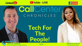 Tech For The People_ featuring David Singer of Verint _ Call Center Chronicles S2E4