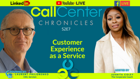 Customer Experience As A Service with Laurent Philonenko of Servion_Call Center Chronicles S2E7