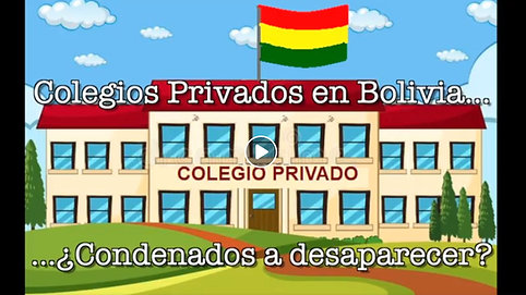 Colegios Privados en Bolivia Desaparecerán