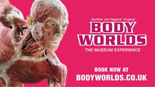 BODY WORLDS Installation shoot