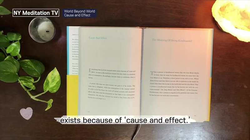 'Cause and Effect' From World Beyond World By Teacher Woo Myung